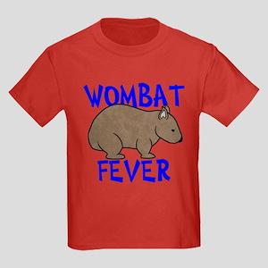 Wombat Fever II Kids Dark T-Shirt