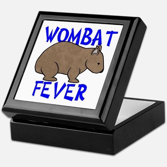 Wombat Fever II Keepsake Box
