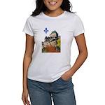 Frontenac Castle with Lys Flo Women's T-Shirt