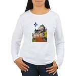 Frontenac Castle with Lys Flo Women's Long Sleeve