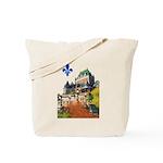 Frontenac Castle with Lys Flo Tote Bag