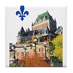 Frontenac Castle with Lys Flo Tile Coaster