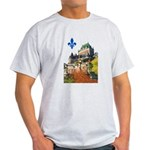 Frontenac Castle with Lys Flo Light T-Shirt