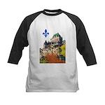 Frontenac Castle with Lys Flo Kids Baseball Jersey