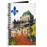 Frontenac Castle with Lys Flo Journal