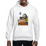 Frontenac Castle with Lys Flo Hooded Sweatshirt