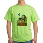 Frontenac Castle with Lys Flo Green T-Shirt