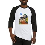 Frontenac Castle with Lys Flo Baseball Jersey