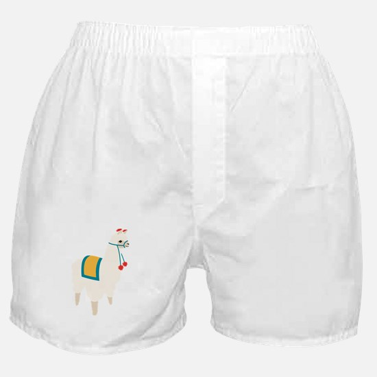 Alpaca Animal Boxer Shorts