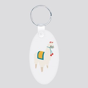 Alpaca Animal Keychains