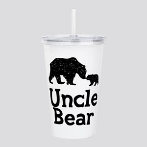 Uncle Bear Acrylic Double-wall Tumbler