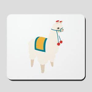 Alpaca Animal Mousepad