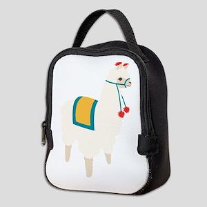 Alpaca Animal Neoprene Lunch Bag