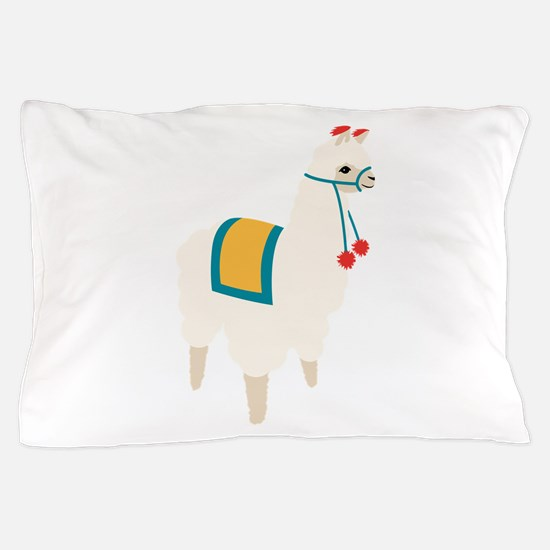 Alpaca Animal Pillow Case