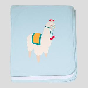 Alpaca Animal baby blanket