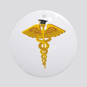 Medical School Graduation Ornament (Round)