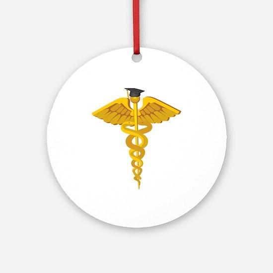 Medical School Graduation Ornament (Round)