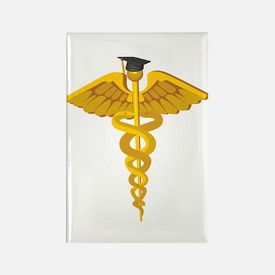 Medical School Graduation Rectangle Magnet (100 pa