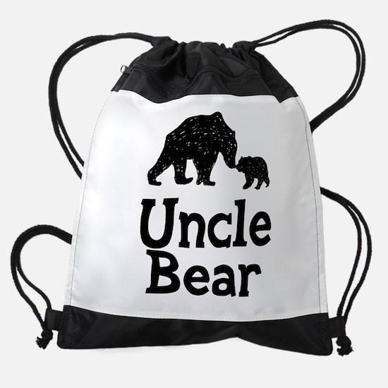 Uncle Bear Drawstring Bag