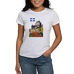 Frontenac Castle and Flag Women's T-Shirt