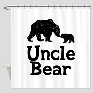 Uncle Bear Shower Curtain