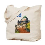 Frontenac Castle and Flag Tote Bag