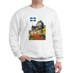 Frontenac Castle and Flag Sweatshirt