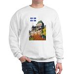 Frontenac Castle and Flag Sweatshirt