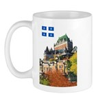 Frontenac Castle and Flag Mug
