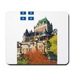 Frontenac Castle and Flag Mousepad