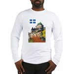 Frontenac Castle and Flag Long Sleeve T-Shirt