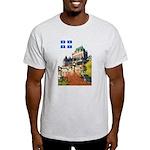 Frontenac Castle and Flag Light T-Shirt