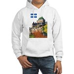 Frontenac Castle and Flag Hooded Sweatshirt