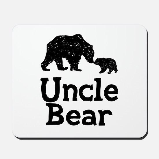 Uncle Bear Mousepad
