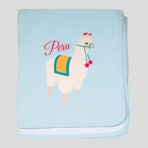 Peru Alpaca baby blanket