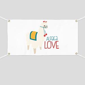 Alpaca Love Banner