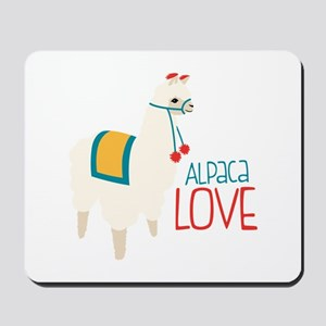 Alpaca Love Mousepad