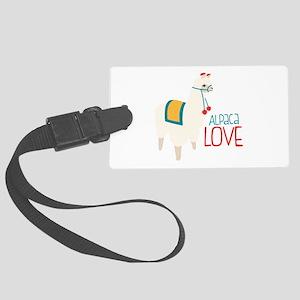 Alpaca Love Luggage Tag