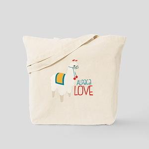 Alpaca Love Tote Bag
