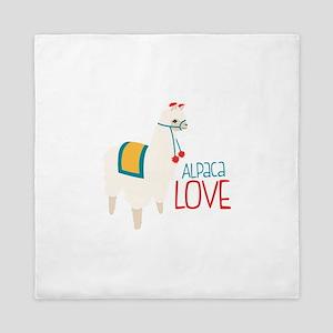 Alpaca Love Queen Duvet