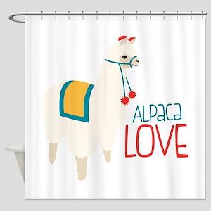 Alpaca Love Shower Curtain