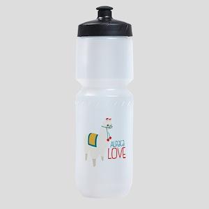 Alpaca Love Sports Bottle