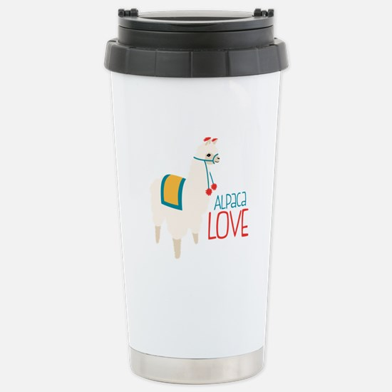 Alpaca Love Travel Mug
