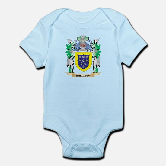 Bailliffy Coat of Arms - Family Crest Body Suit
