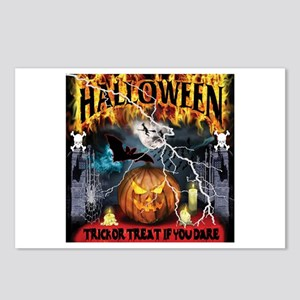 HALLOWEEN 1 Postcards (Package of 8)