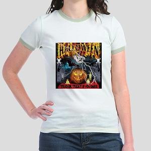 HALLOWEEN 1 Jr. Ringer T-Shirt