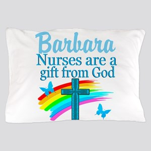 FAITH FILLED NURSE Pillow Case