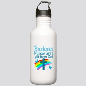 FAITH FILLED NURSE Water Bottle