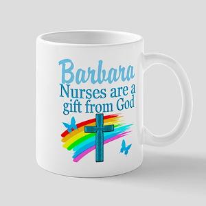 FAITH FILLED NURSE Mugs