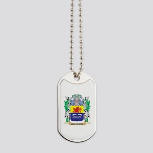 Balderas Coat of Arms - Family Crest Dog Tags
